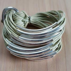MULTI-TUBE Bracelet BY GILLIAN JULIUS.
